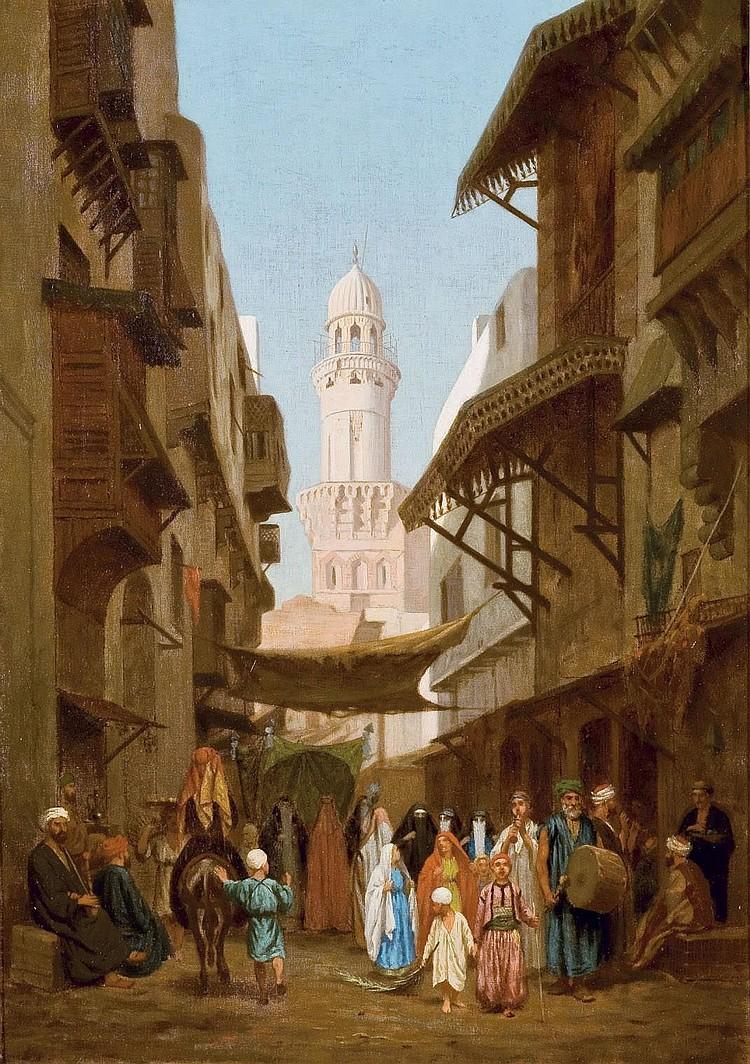 LOUIS EMILE PINEL DE GRANDCHAMP (FRANCAIS, 1831-1894)