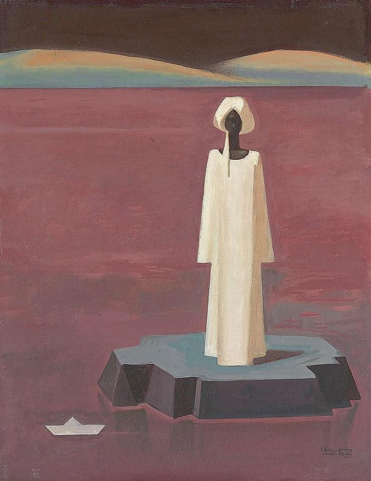 HUSSEIN BICAR (EGYPTIEN, 1912-2002)