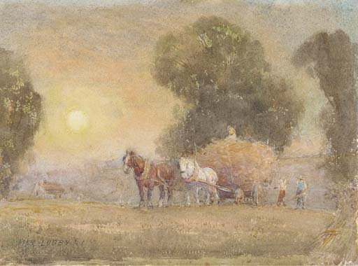 Max Ludby, R.I. (1858-1943)