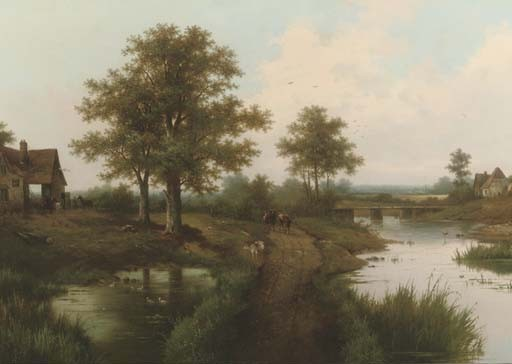 Hendrik Barend Koekkoek (Dutch, 1849-before 1909)