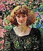 Rose and Gold, Dame Laura Knight, Click for value
