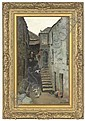 An alley, St. Ives , Alice Fanner, Click for value