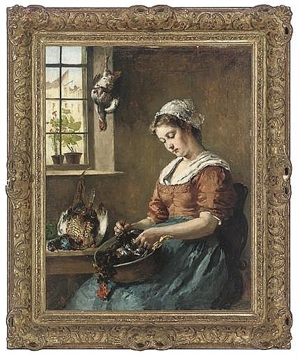 The busy maid