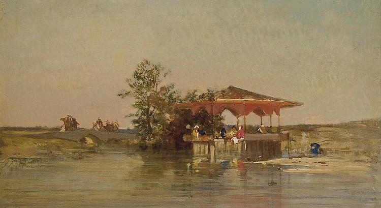 CHARLES EMILE DE TOURNEMINE (TOULON 1812 - 1872)