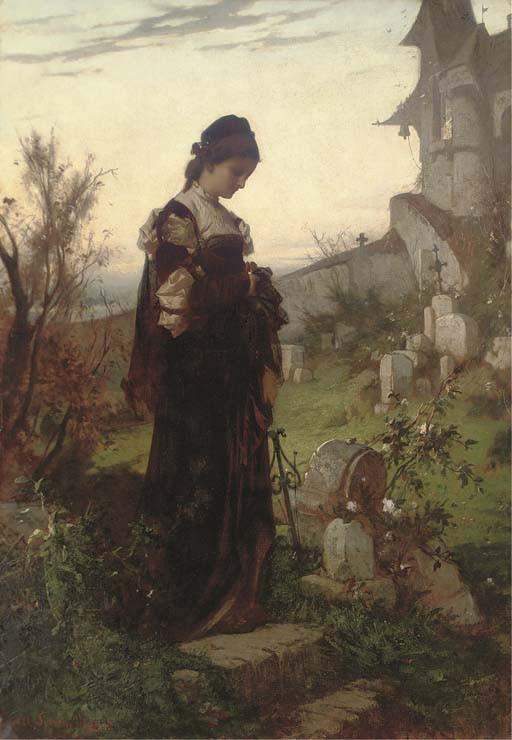 Alexander von Liezen-Mayer (Hungarian, 1839-1898)