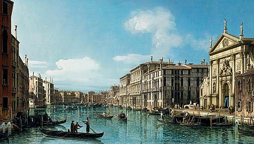 The Grand Canal at the Church of San Stae, Venice