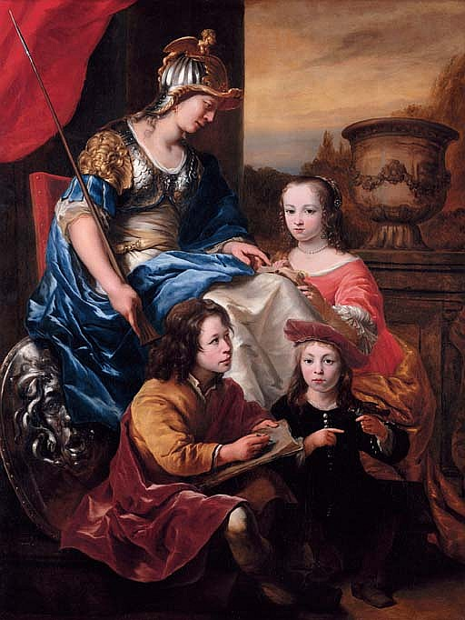 Portrait of a family, An allegory of Education