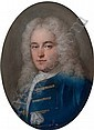 Portrait of Thomas Chase (1729-88), half-length, in a blue coat, Rosalba Carriera, Click for value