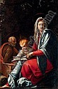 The Holy Family,  Cecco Bravo, Click for value