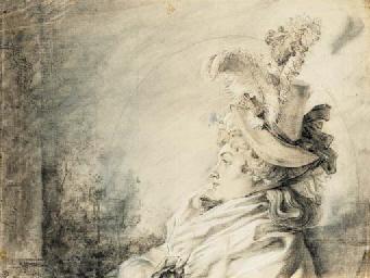 Attributed to Gabriel-Jacques de Saint-Aubin (Paris 1724-1780)