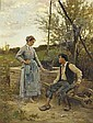 Edouard Bernard Debat-Ponsan (1847-1913), Edouard Debat-Ponsan, Click for value
