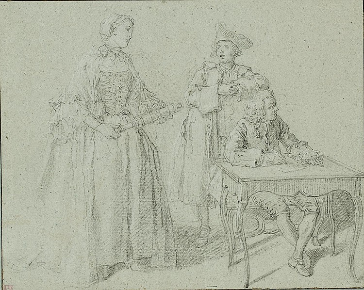 ETIENNE JEAURAT (VERMENTON 1699-1789 VERSAILLES)