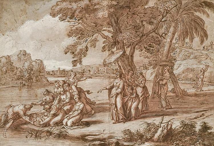 ATTRIBUE A NICOLAS-PIERRE LOIR (PARIS 1624-1679)