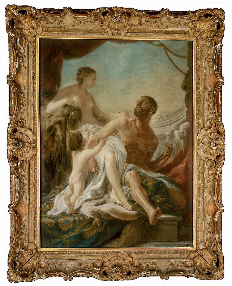 NOEL HALLE (PARIS 1711-1781)