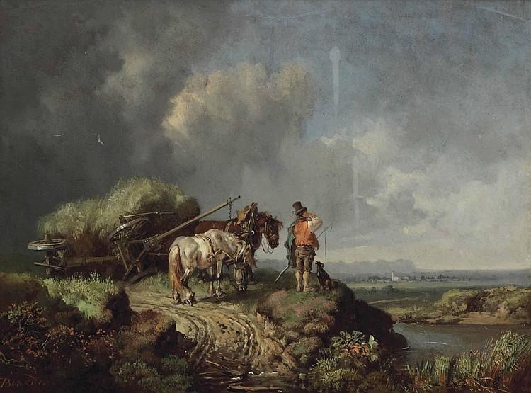 Heinrich Bürkel (Permasens 1802-1869 München)