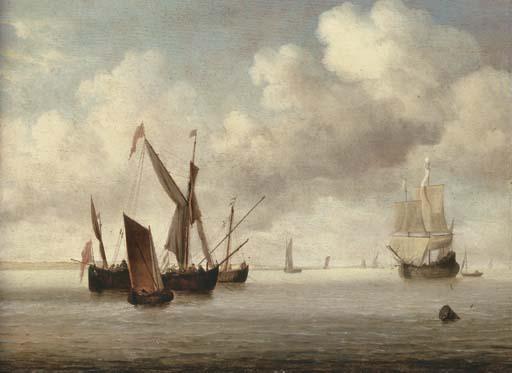 Willem van de Velde II (Leiden 1633-1707 London)