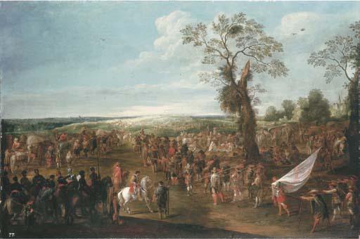 Cornelis de Wael (Antwerp 1592-1667 Rome)