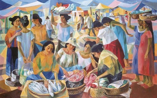 <B>VICENTE SILVA MANANSALA</B> (The Philippines 1910-1981)