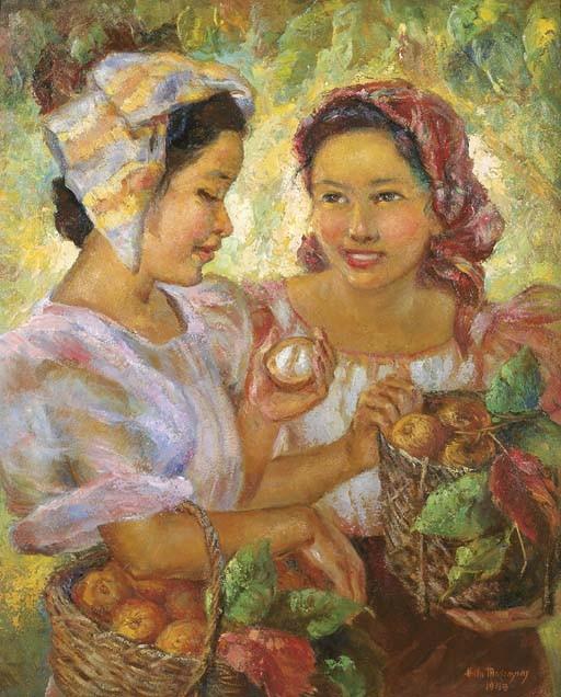 <B>ANITA MAGSAYSAY-HO</B> (b. The Philippines 1914)