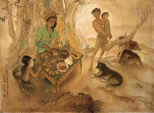 <B>LEE MAN FONG</B> (Indonesia 1913-1988)