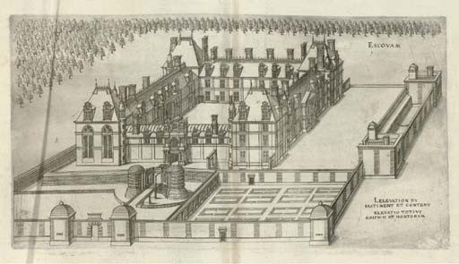 ANDROUET DU CERCEAU, Jacques (1510-1584). <I>Le premier [second] volume des plus excellents</I>