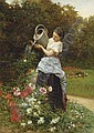 Théophile Emmanuel Duverger (French, 1821-1886), Theophile-Emmanuel Duverger, Click for value