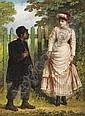 Jerry Barrett (1814 - 1906), Jerry Barrett, Click for value