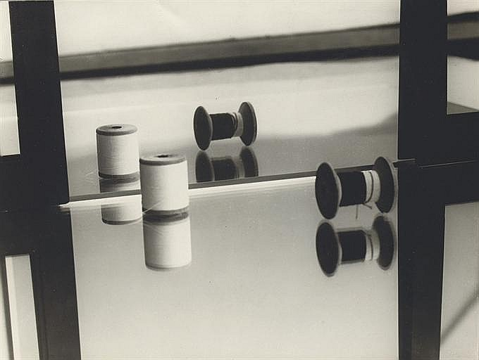 Composition (bobbins and mirrors), 1928