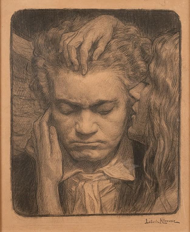 LUDOVIC ALLEAUME (1859-1941)