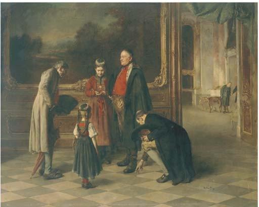 <B>BENJAMIN VAUTIER (1829-1898)</B>