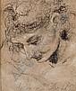Tête de jeune homme, Pietro Faccini, Click for value