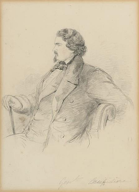 Count Alfred Guillaume Gabriel D'Orsay (French, 1801-1852)