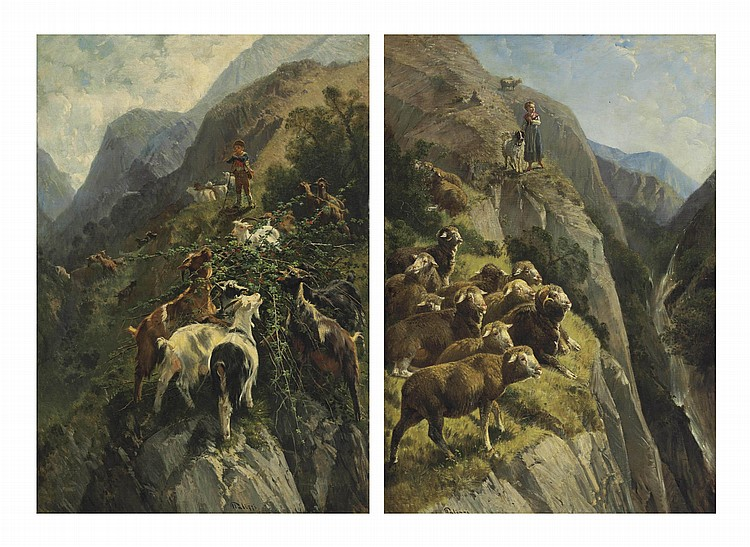 Giuseppe Palizzi (Italian, 1812-1888)