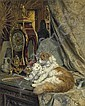 Henriette Ronner-Knip (Dutch, 1821-1909)                                        , Henriette Knip, Click for value