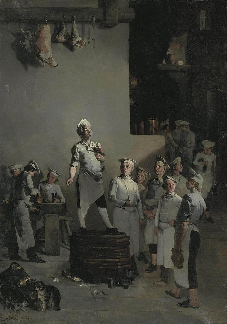 Théodule Augustin Ribot (French, 1823-1891)