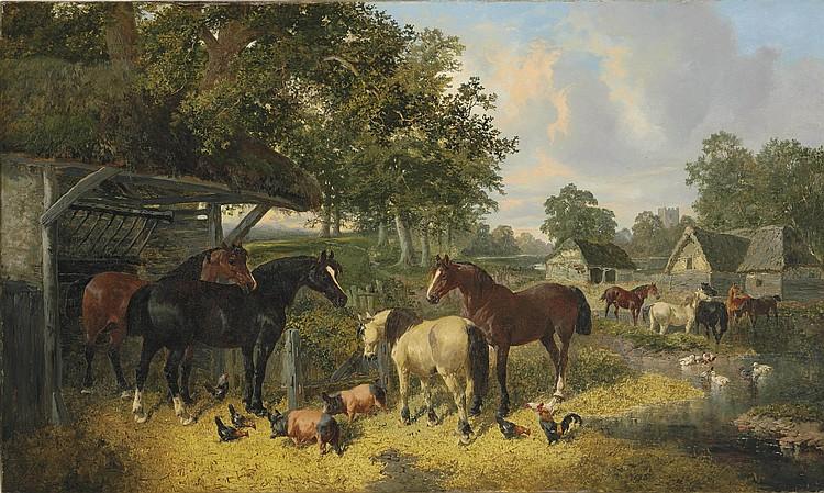 John Frederick Herring Jnr. (British, 1815-1907)