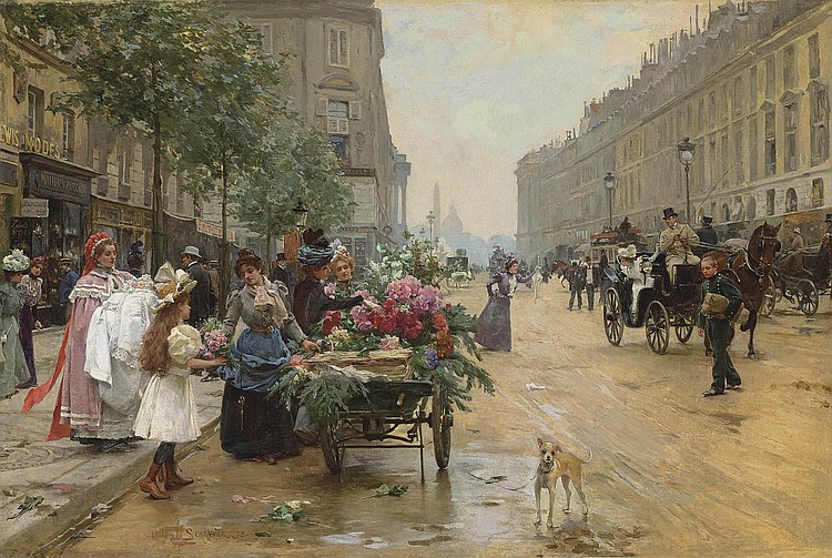 Louis Marie de Schryver (French, 1862-1942)