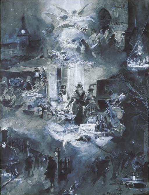 Alejandro Ferrant Fischermans (Madrid, 1843 - 1917)