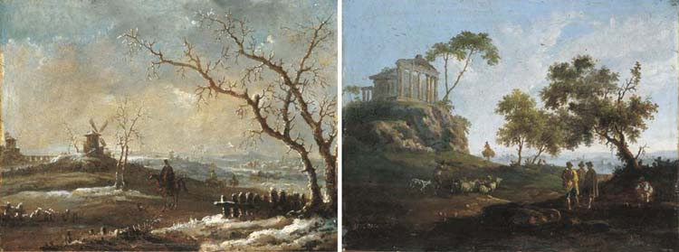 Genaro Pérez Villaamil y Duguet (Ferrol, 1807 - Madrid, 1854)