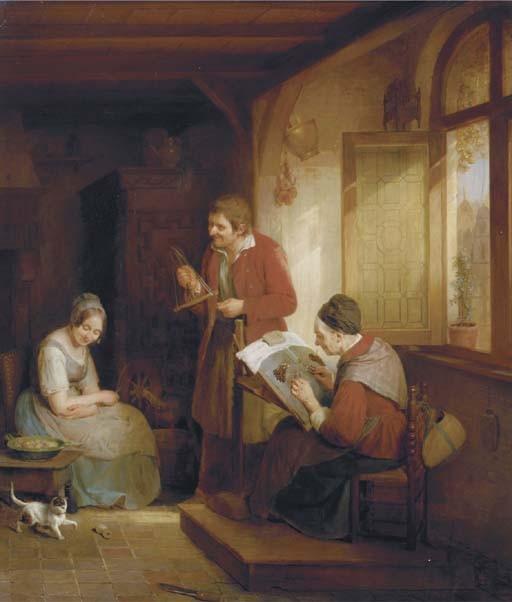 Frans Josef Luckx (Belgian, 1802-1849)
