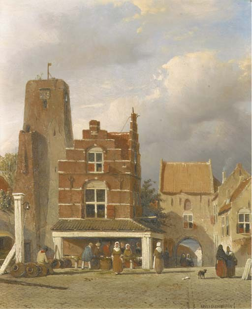 Jan Weissenbruch (Dutch, 1822-1880)
