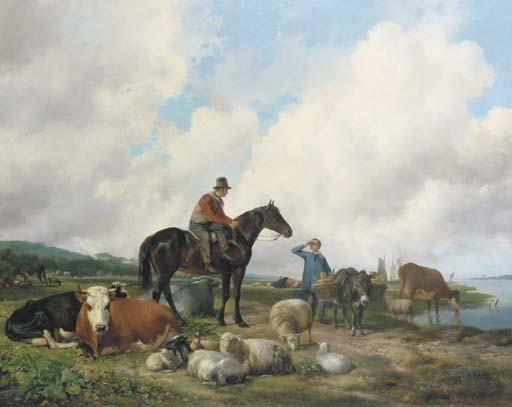 Hendrikus van de Sande Bakhuyzen (Dutch, 1795-1860)