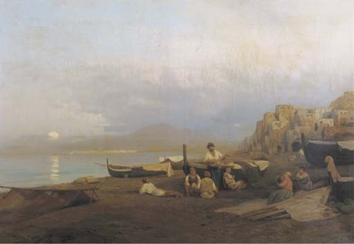 Albert Flamm (German, 1823-1906)