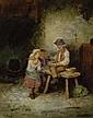 Mark William Langlois (BRITISH, 19th Century), Mark William Langlois, Click for value