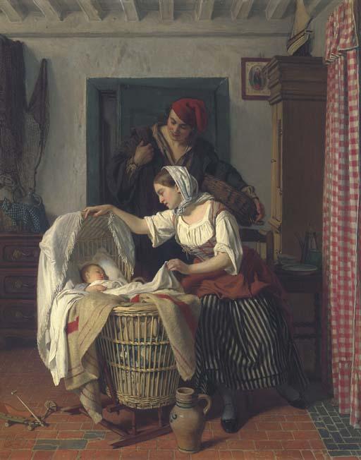 Charles Louis Baugniet (Belgian, 1814-1886)