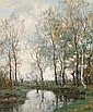 Birches along the Vordense beek, Arnold Marc Gorter, Click for value