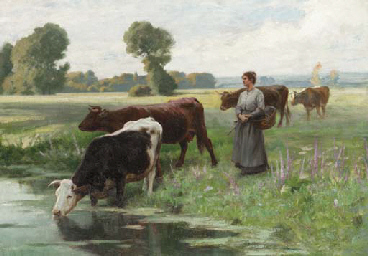 Edouard-Bernard Debat-Ponsan (French, 1847-1913)