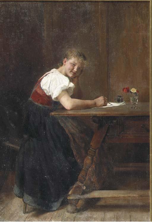 Carl Friedrich Wilhelm Geist (German, b. 1870)