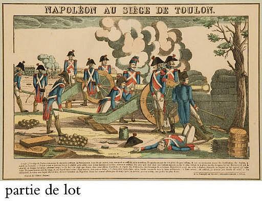 Bataille de la Moscowa et Napoléon au Siège de Toulon