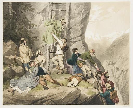 Chemin des Echelles, Canton du Valais par Claude Régnier